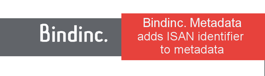 Bindinc. Metadata adds ISAN identifier to metadata