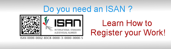 How to register your work with ISAN?